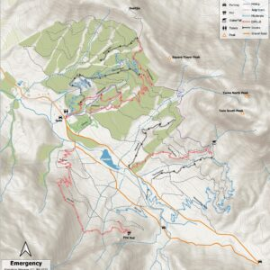 Jonkershoek MTB map