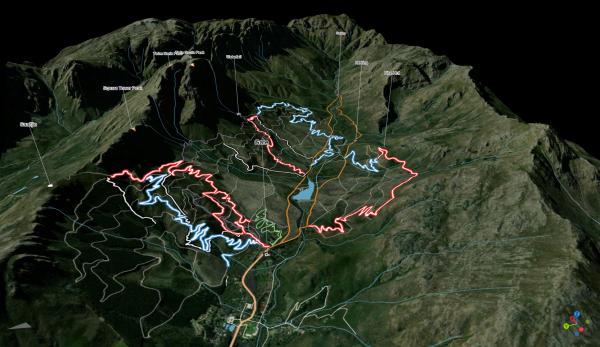 Jonkershoek MTB map